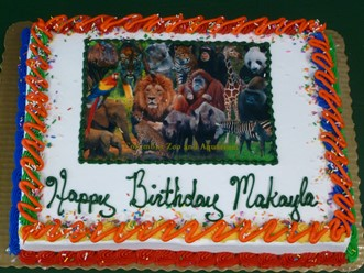 Enhance Your Safari Adventures Birthday Party With A Cake